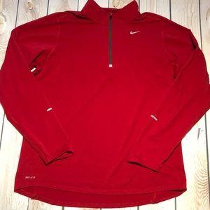 Nike Element men's dri-fit 1/4 zip running top